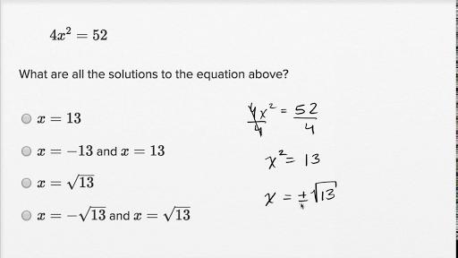 Ryan Ofman SAT Math workbook practice equation